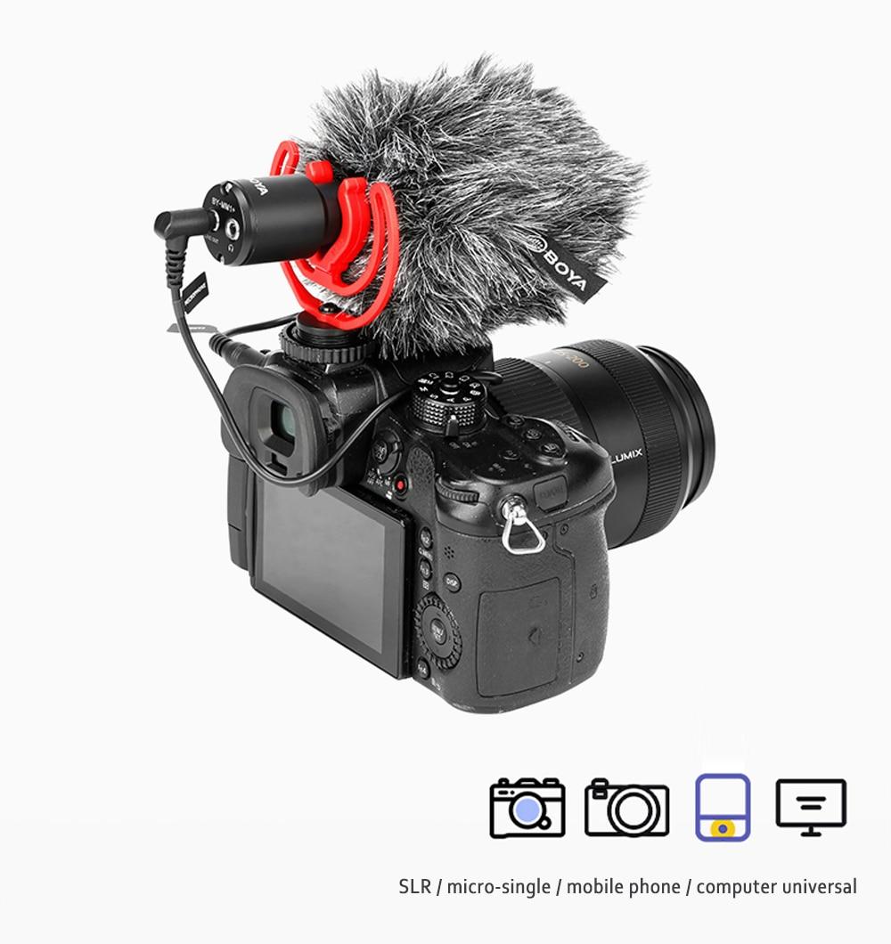 Boya BY-MM1+ Plus Shotgun Microphone 5