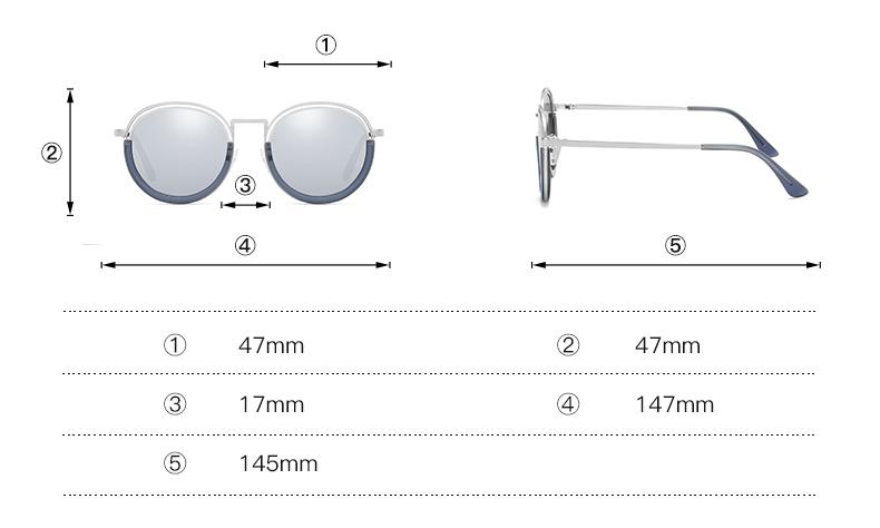 Sunglasses Women Vintage Round Sun Glasses Polarized Lens UV400 Anti Reflective Summer Polarized Women Snnglasses (16)