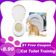 Litter-Box Toilet-Trainer Puppy-Cat-Litter-Mat Training-Kit Pet-Cleaning-Training-Products