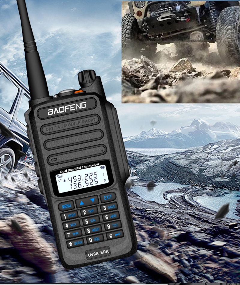 2019 BaoFeng UV-S9 Powerful Walkie Talkie CB Radio Transceiver 8W 10km Long Range Portable Radio for hunt forest city (13)