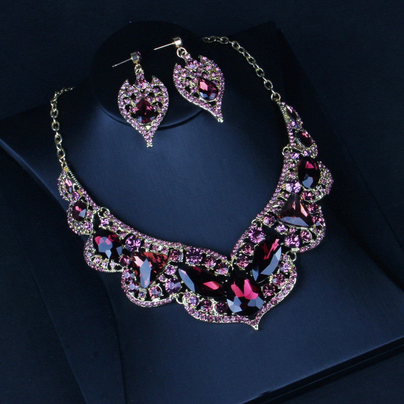 Water Drop Crystal jewelry