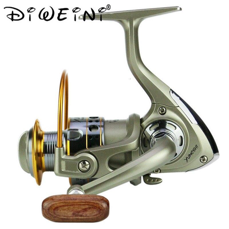 12BB Ball Bearing Saltwater Freshwater Fishing Spinning Reel 5.5:1 LC2000-7000