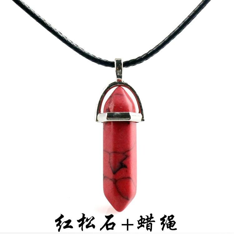 红松石+蜡绳