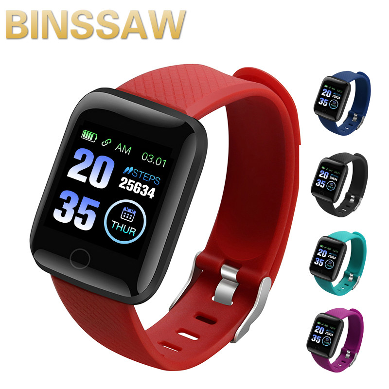 2020 NEW D13 Smart Watch Blood Pressure Heart Rate Monitor Mnformation Reminds Sports Waterproof Pedometer Men Smart Watch title=