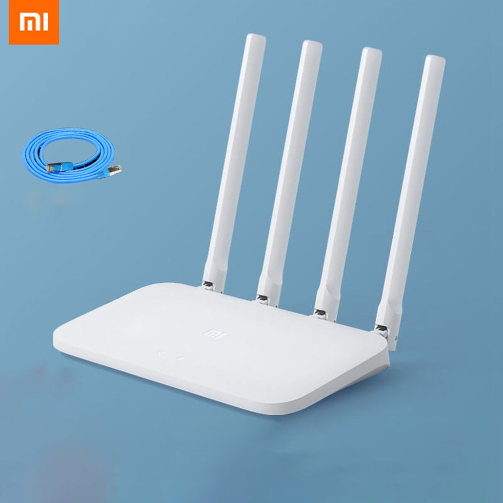 Xiaomi Wifi-Router Anti-Mite Network The Home 4C 100-Mega-Fiber Wall-King High-Speed title=