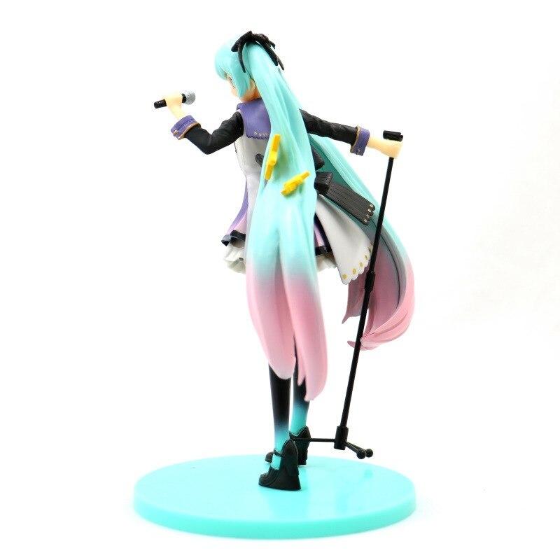 Hatsune Miku 10th Anniversary Edition PVC Miku Hatsune Figure Action Collectible Model Toy (4)