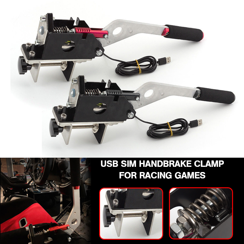 Pcmos Usb-Handbrake-Clamp Auto-Replacement-Parts Racing-Games Dirt-Rally FANATECOSW SIM title=