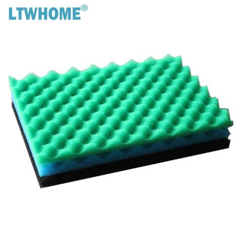 Fish Pond 3pcs 11 x 17 Replacement Filter Foam Sponge Set Bio Fine Medium Coarse