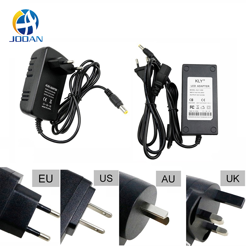 12V 2A AC to DC Adapter Charger Power Supply for LED Light Camera CCTV UK PlugVQ