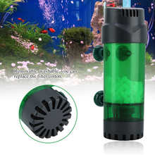 Aquarium SPONGE-FILTERS Suction-Cup Fish-Tank DOUBLE-BIOCHEMICAL-FILTER with Physical