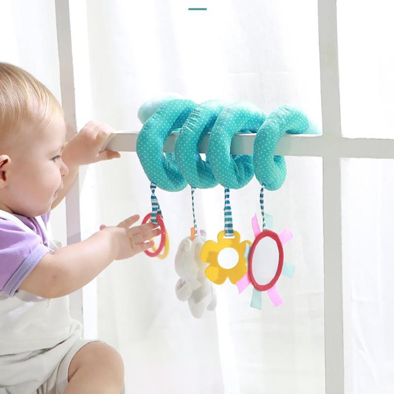1pc Kreatives Baby Spielzeug Lustige Kleine Plastik Hand Bell Rassel Babyrassel