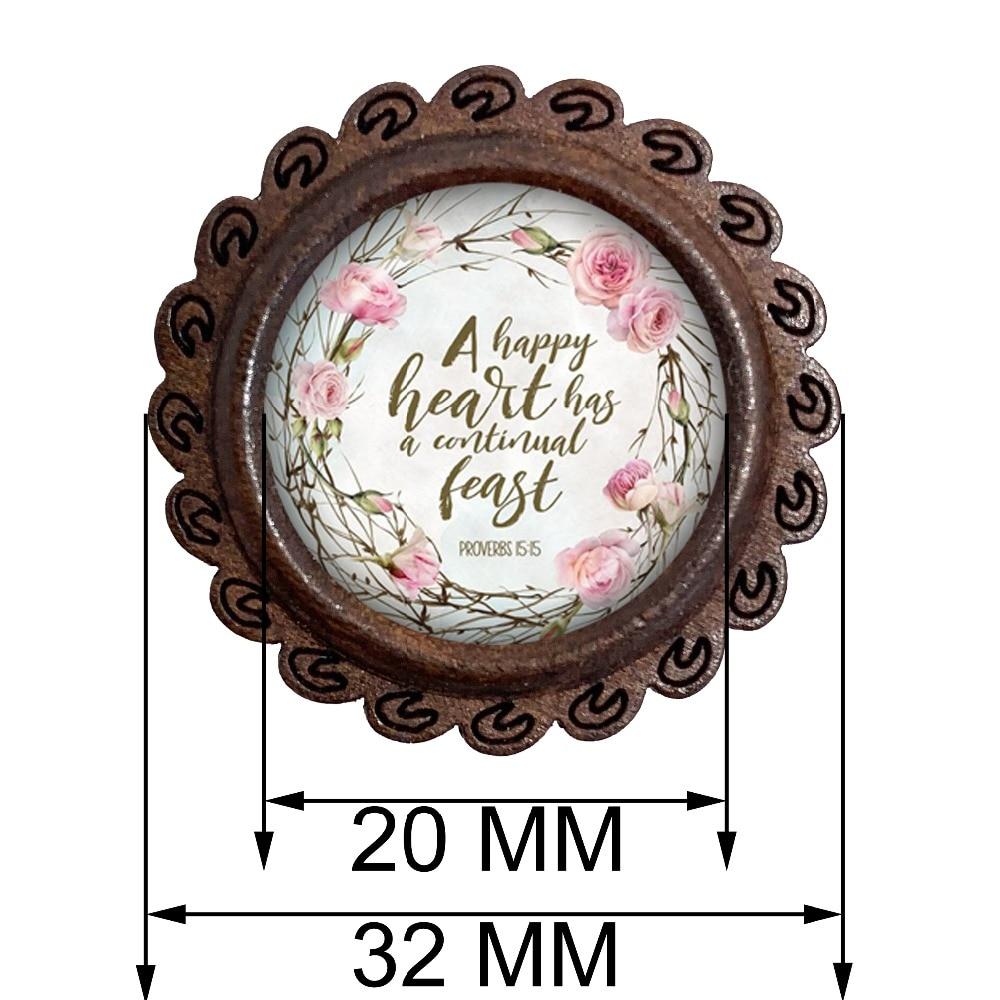 木质胸针尺寸图