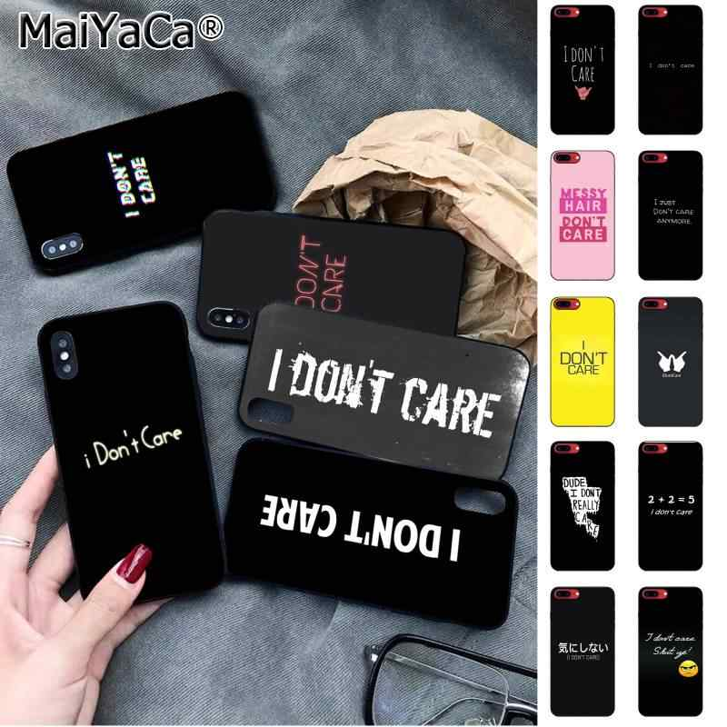 I don't care iPhone 11 case