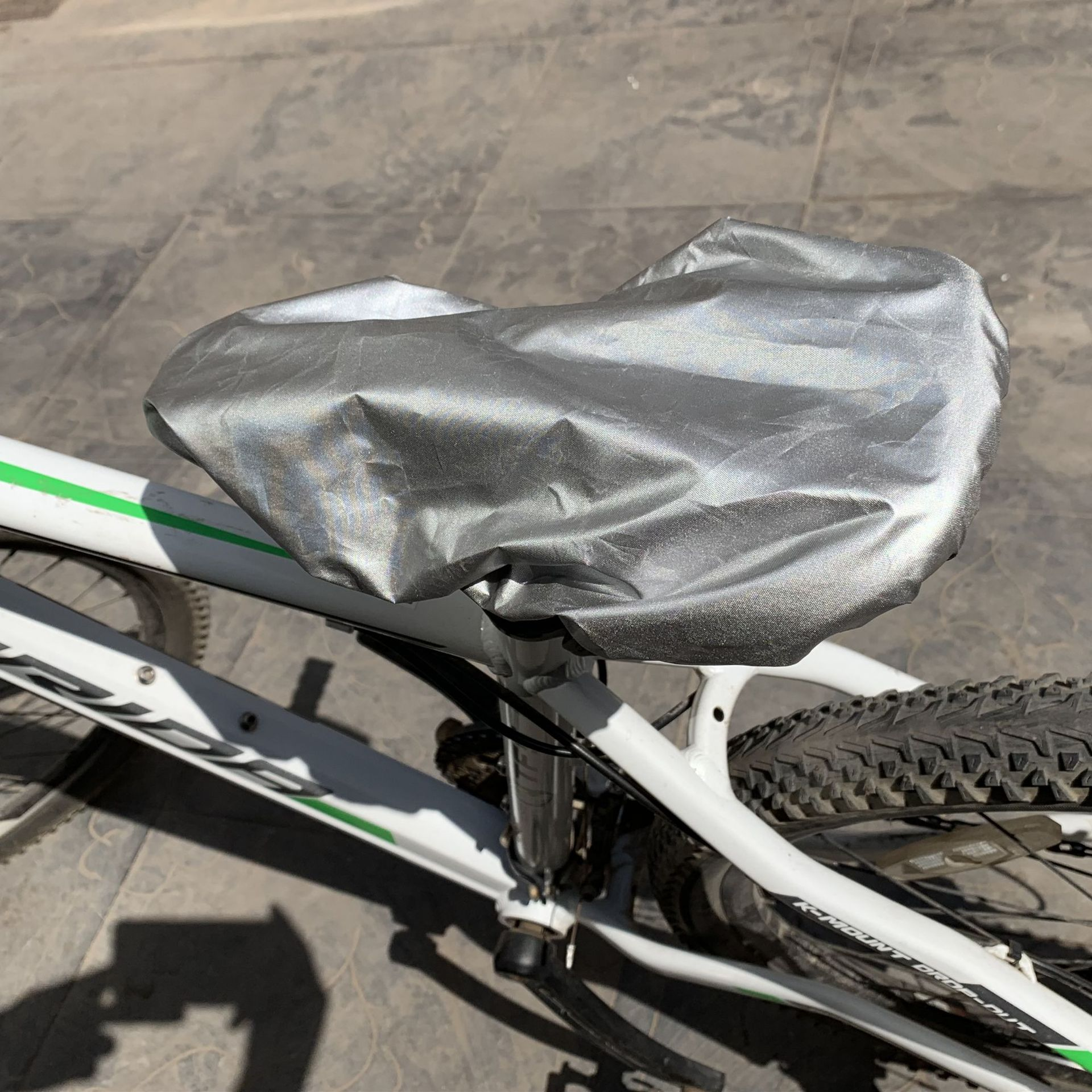 Black Rain Covers Canopy Cover for Child Bike Rear Seat Saddle PVC Protection