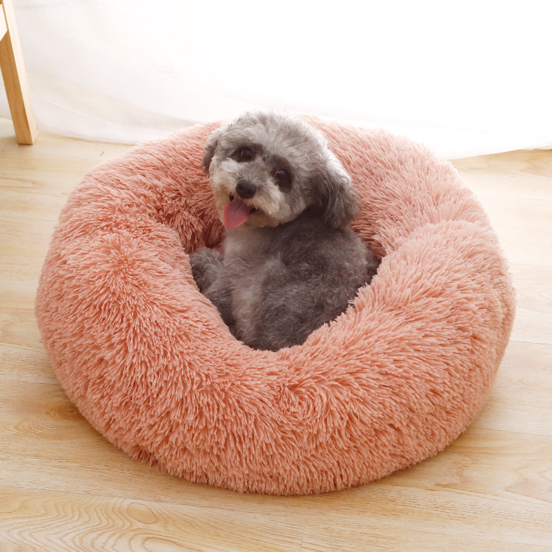 Round Cushion Sofa Bed For Dog or Cat Image
