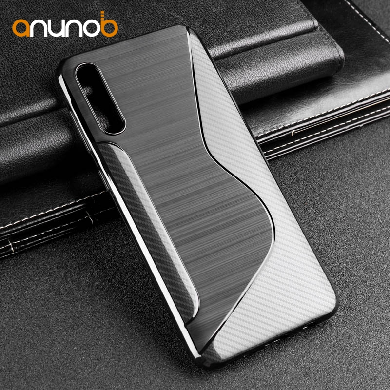TARYTAN Phone Case For Samsung Galaxy A50 Case Silicone Soft TPU Fundas For Samsung A30 A 50 A 30 2019 A20 A40 A70 Cover Black