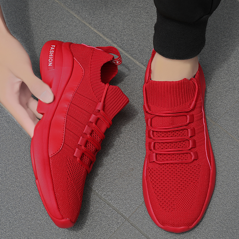 Damyuan Running Shoes Fashion Breathable Sneaker Running Shoes 47 46 Large Size Comfortable Sports Men's Walking Jogging Shoes title=