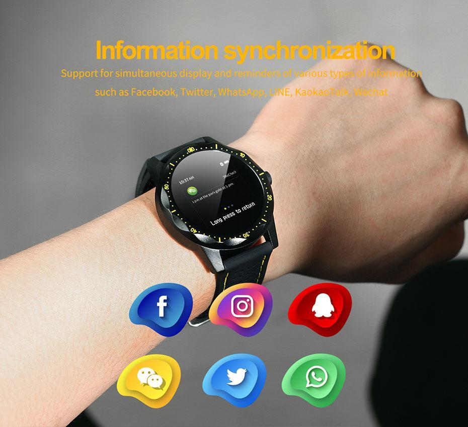 COLMI SKY 1 Smart Watch Men IP68 Waterproof Activity Tracker Fitness Tracker Smartwatch Clock BRIM for android iphone IOS phone 10