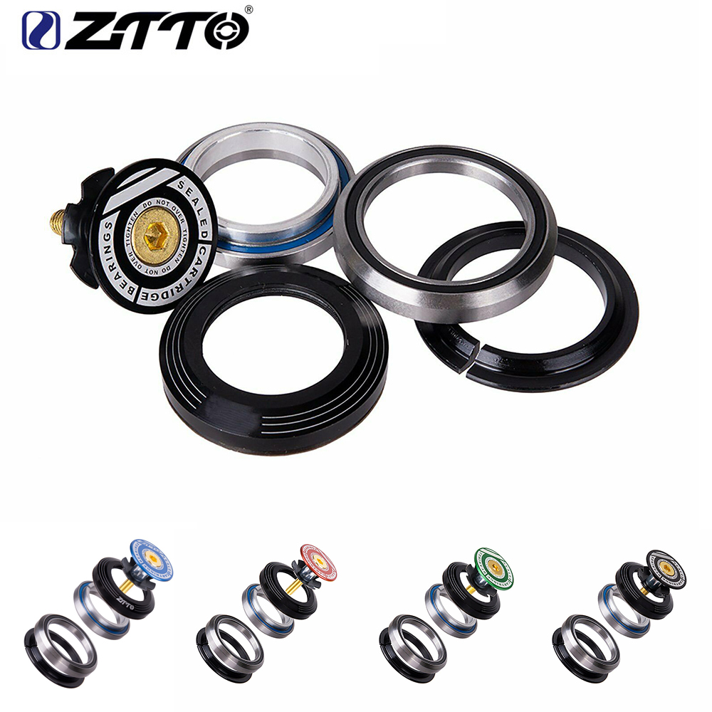 ZTTO 4247T MTB Bicycle Bearing Headset 33mm Tapered Tube IS42 IS47 Integrated