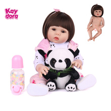 Baby Dolls Play-Toys Lol Silicone Reborn Bebe Toddler 18inch Vinyl Birthday-Gifts Lifelike