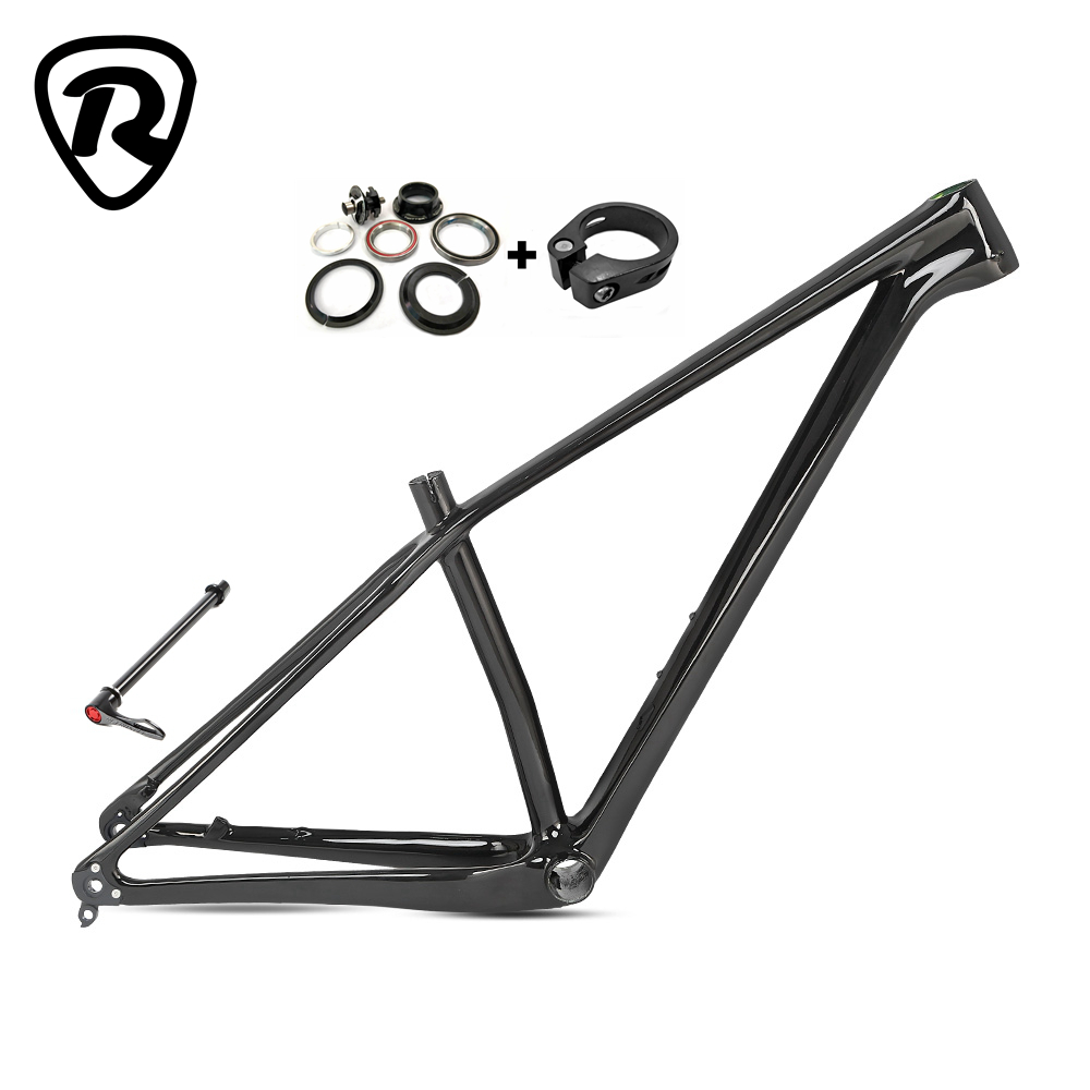 2020 New arrival Carbon mtb Frame 29er Thru axle 142mm 27.5 650B Mountain Bicycle Carbon Fibre Bike Frames bicicleta 29 title=