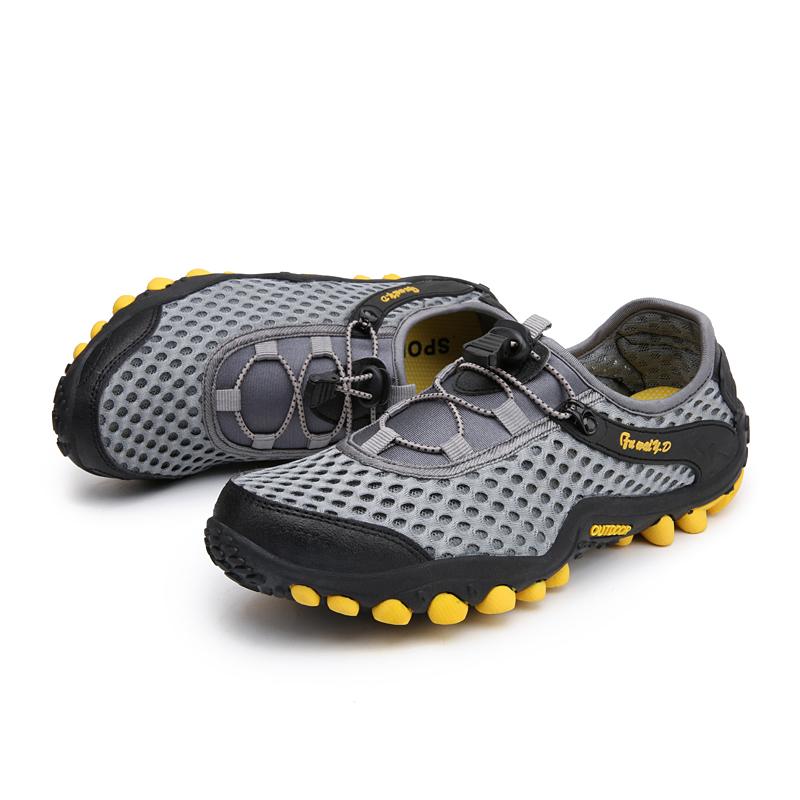 Aqua Shoes Ultra-light Quick-drying Beach Water River Walking 2019 Summer Men Mesh Breathable Flotillas Outdoor Hiking (4)