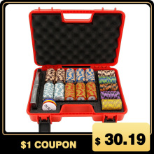 Suitcase Storage-Box Chip-Container Chips House Monopoly Tokens Casino Protable High-Quality