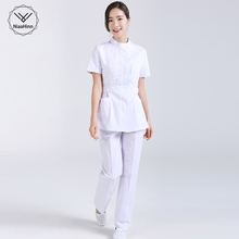 Scrubs-Sets Spa-Uniform Work-Wear Lab-Coat Beauty Salon Women Pet-Grooming-Institutions
