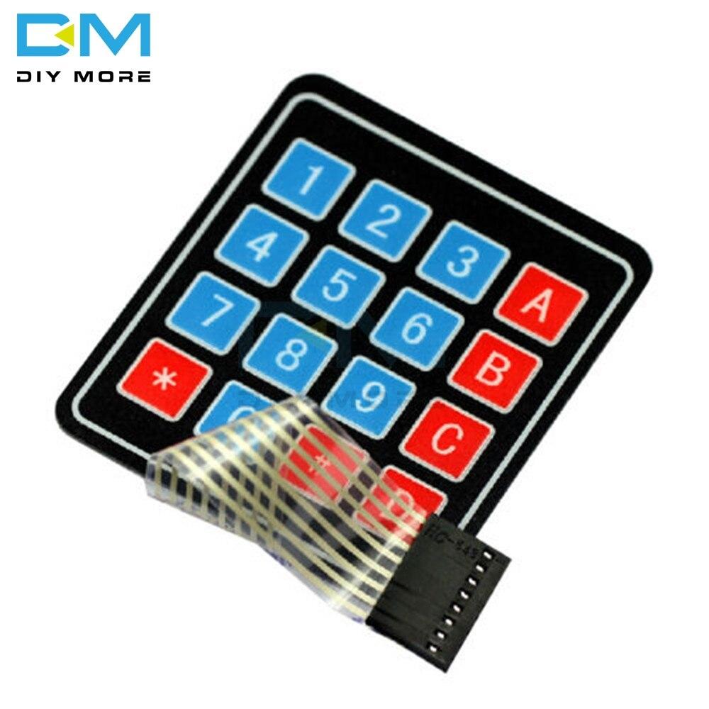 Membrane Matrix KeyPad Key Switch 16 4x4 Arduino PIC Pi ARM