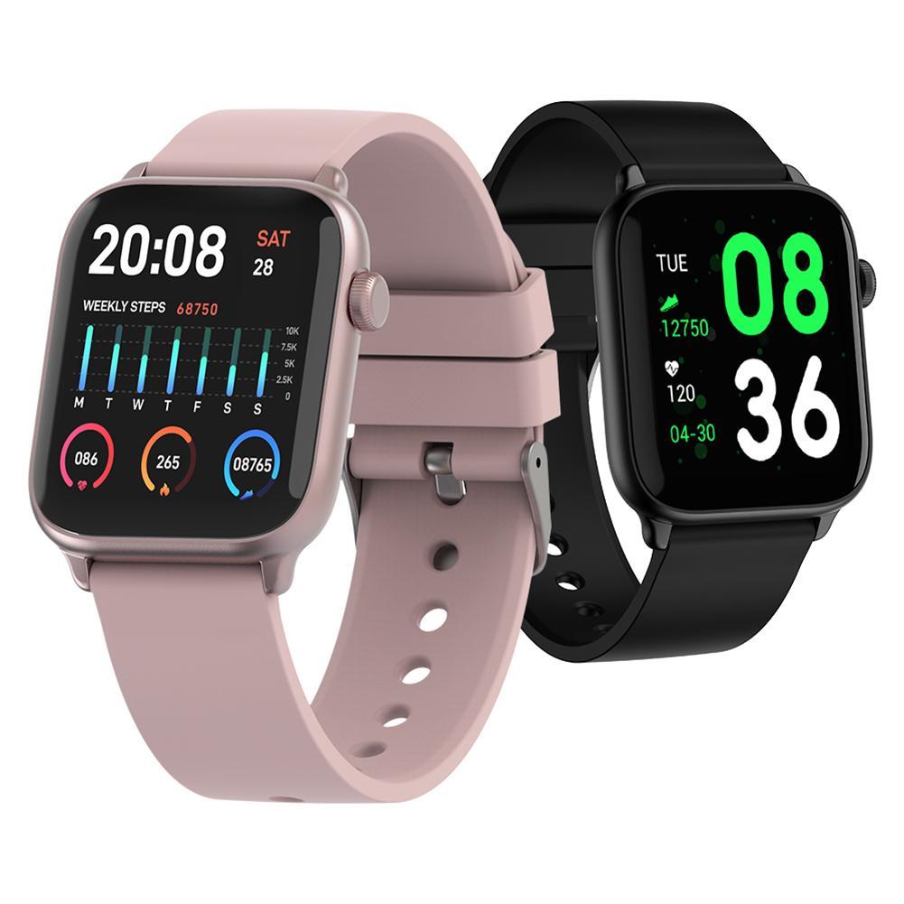 Wristwatch - IP68 Waterproof Smart Watch Men Round Screen Heart Rate Blood Pressure Monitoring Smart Watch