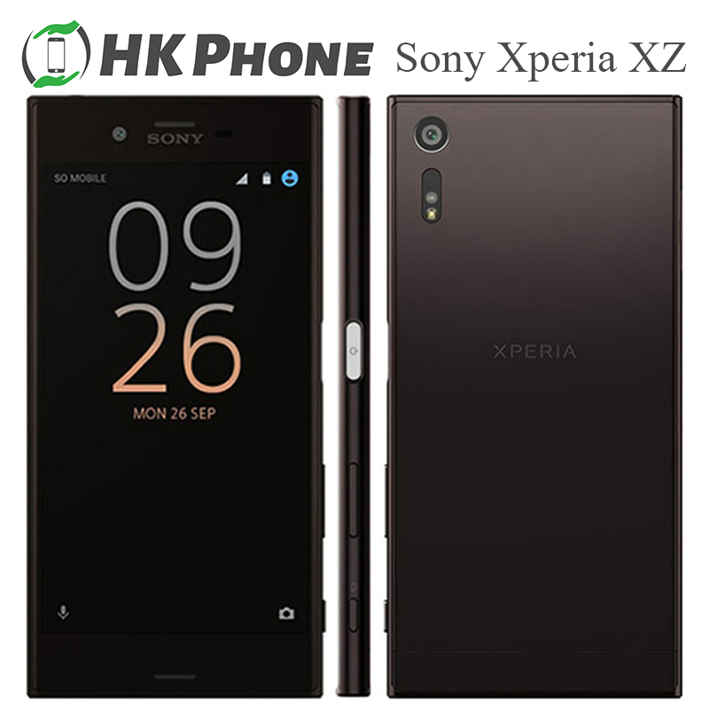 Sony Xperia XZ F8331 32GB 3GB Quad Core Fingerprint Recognition Refurbished Android Smartphone title=