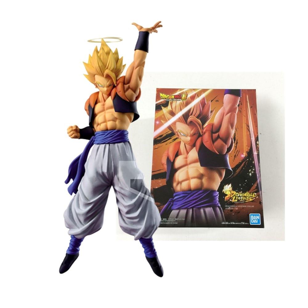 Anime Figures Dragon Ball Z Gogeta Hot Toys Action Figma Stardust Breaker Anger Gogeta Vegeta legend Figurals Model DBZ Doll Toy