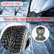Snow-Chains Studs Wheel-Lugs Screw Tyre-Sled Tire ATV Motorcycle Winter 100pcs for Shoes