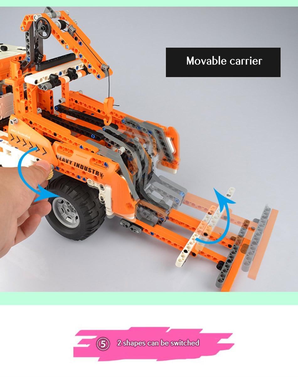 CaDA C51013 Mobile Crane RC Building Block 43