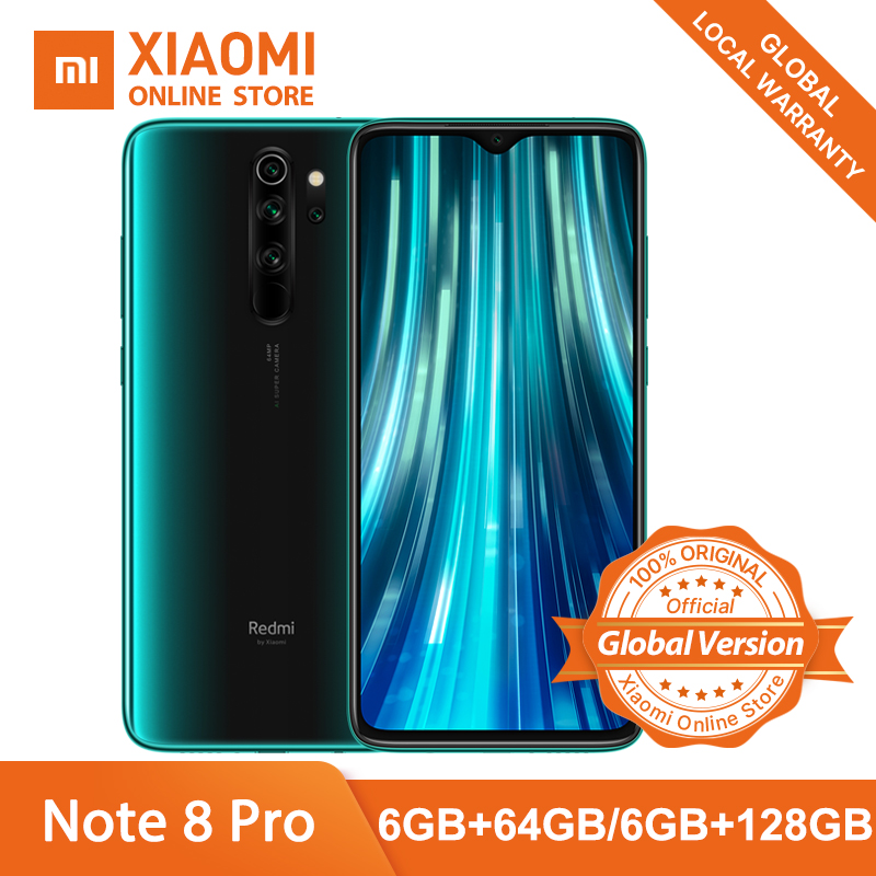 Xiaomi Redmi Note 8 Pro 6GB 64GB GSM/CDMA/WCDMA/LTE NFC Quick Charge 3.0 Gorilla Glass title=