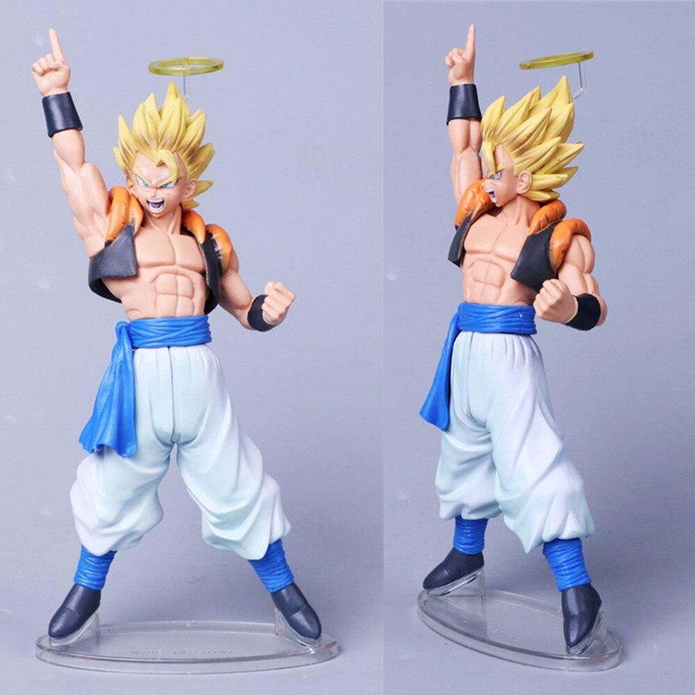 Anime Gogeta Dragon Ball Z Action Figures Angel DBZ Vegeta Goku Super Saiyan Gogeta Toys PVC Esferas Del Figma Model Xmas Gift