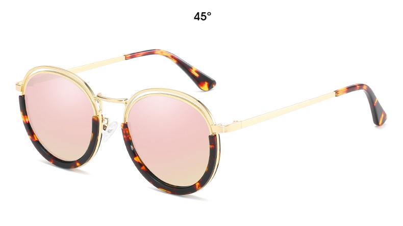 Sunglasses Women Vintage Round Sun Glasses Polarized Lens UV400 Anti Reflective Summer Polarized Women Snnglasses (27)
