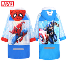 Raincoat Kids Poncho Frozen-Spiderman Children Girls Boy Us-Captain Cartoon