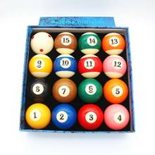 Factory price hard resin material 57mm billiard pool ball set for sale