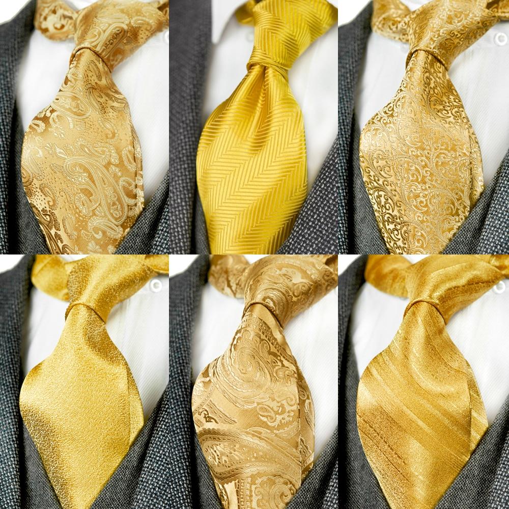 Blue Yellow Paisley 100/% Silk Men/'s Necktie
