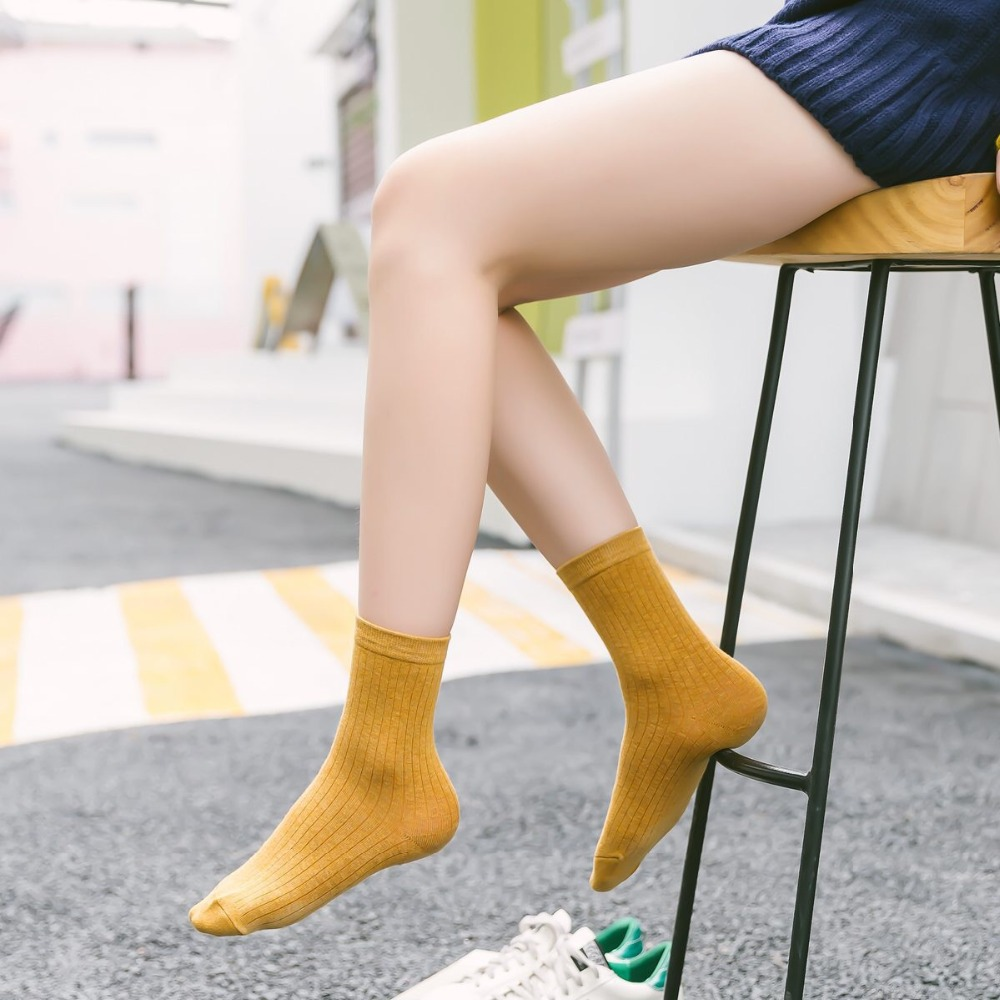 2020 Women+sock Hot Sale Casual New Socks Harajuku Fashion Colorful Happy Gifts Cotton Socks Women