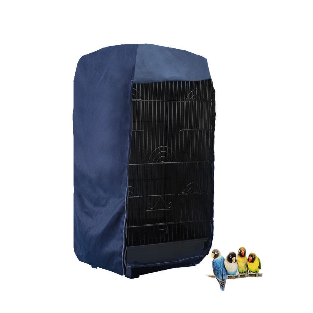 Morezi poli/éster, resistente a prueba de viento, protecci/ón interior y exterior, color gris Funda universal para jaula de alambre