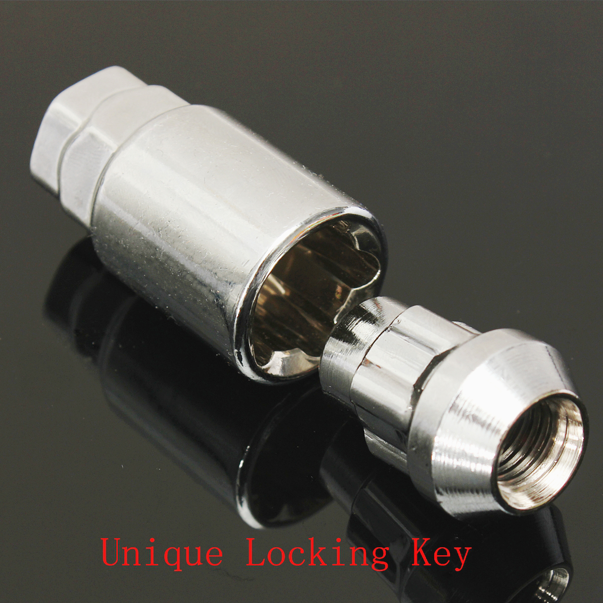 4x Locking Wheel Nuts Lockers Closed for Ford Focus Mk2