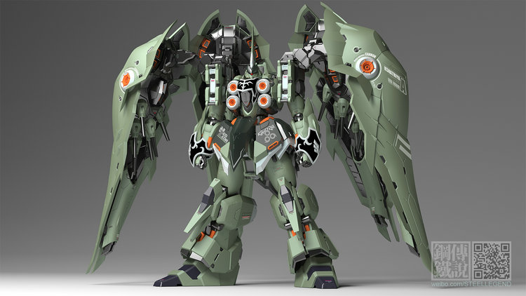 New Steel Legend SL-01 1//100 NZ-666 Kshatriya Gundam Warlock Red Version