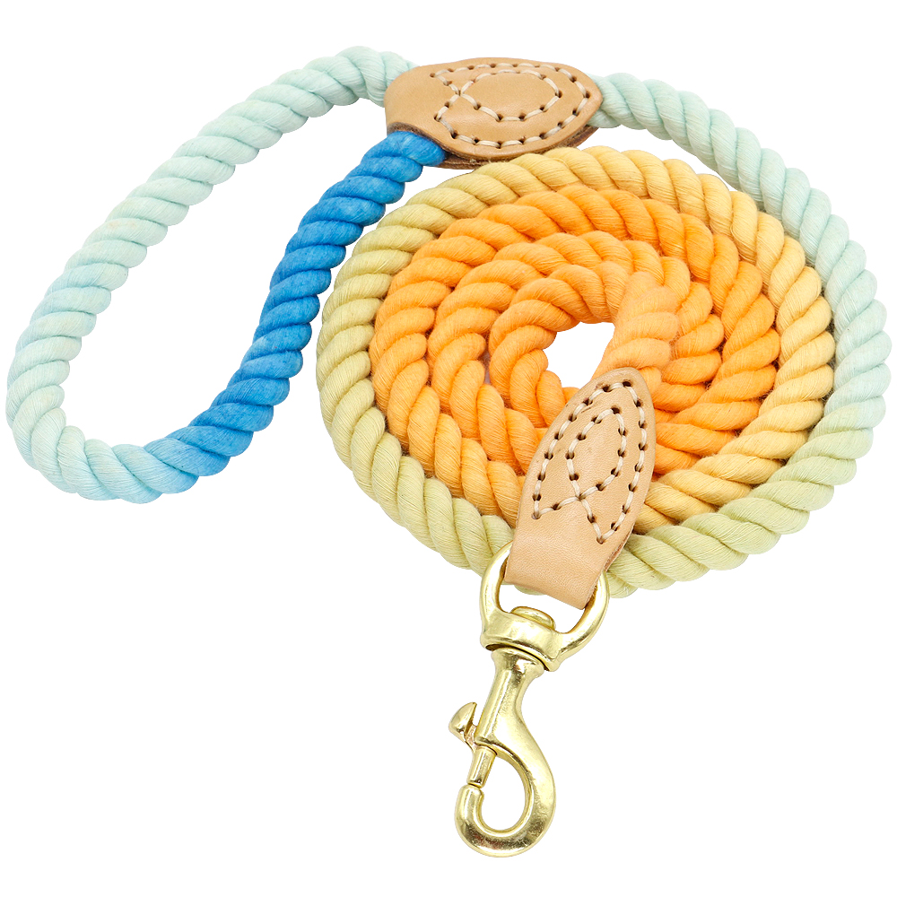 DogsMall-International | 150cm Colorful Dog Leash Round Cotton Lead Rope for small & medium dogs