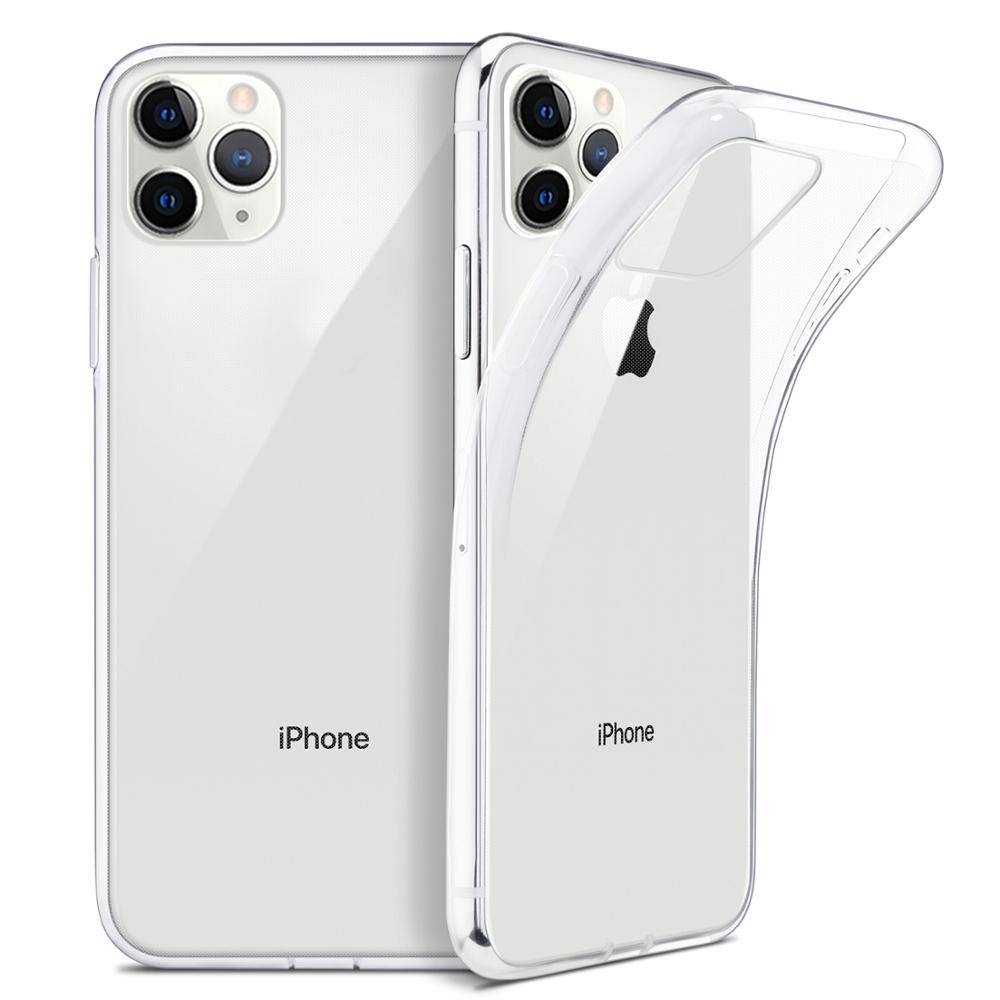 Clear Case Back-Cover Transparent 6s-Plus iPhone 11 Silicone Ultra-Thin XR for Pro TPU title=