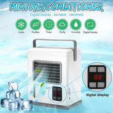 Fan with Digital-Display for Home Office MSU88 Air-Conditioner Desktop USB Mini Portable