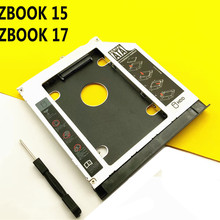 with Bezel Faceplate 2nd HDD SSD Hard Drive Caddy for HP ZBook 15 ZBook 17 G1 G2