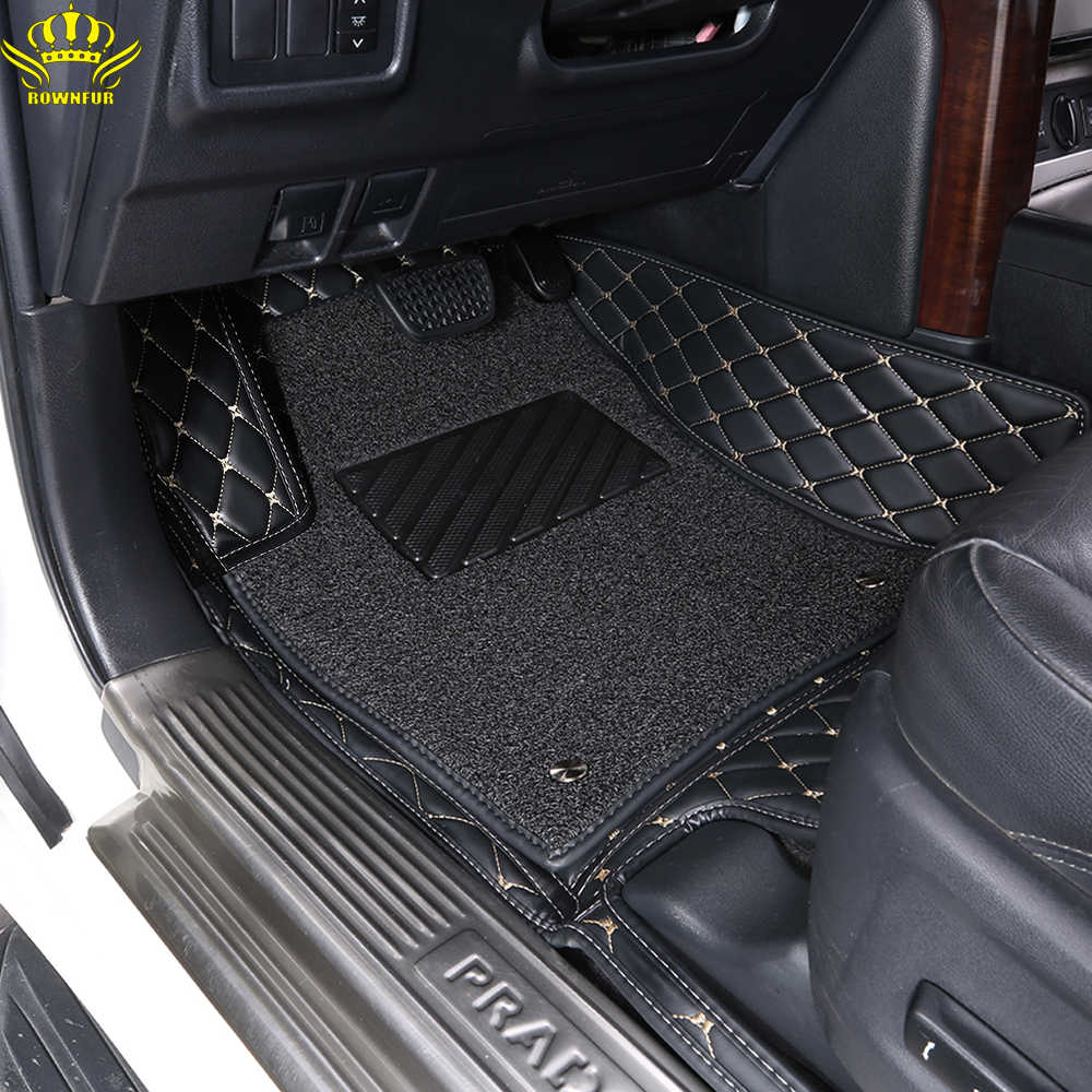 2020 Quality Car Floor Foot Mat For LADA Vesta largus x-ray  priora Waterproof Car Accessories Styling Lada Foot Mats