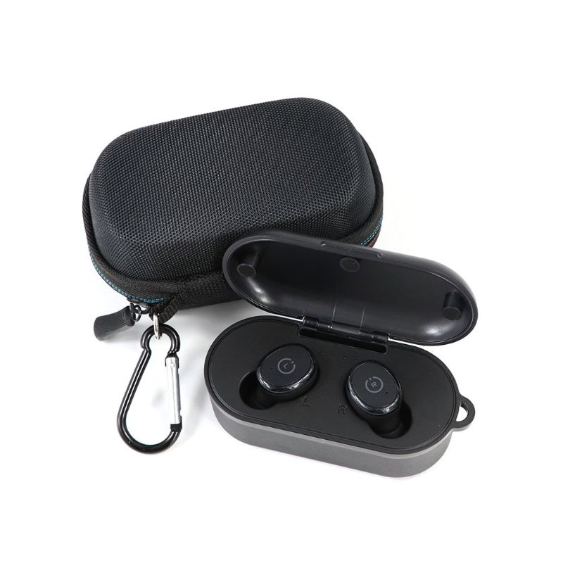 Wear-resistant EVA Hard Travel Carrying Case Storage Bag for TOZO T10/Firacore F10 Wireless Headphones Headset Accessories qyh